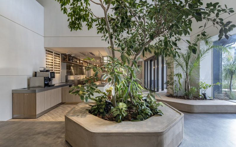 THE BAKE STORE/Landscape,Interior green,concept making/GREEN SUPPLY
