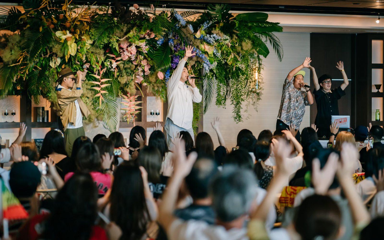 BERRY GOOD MAN 「ベリーグッドマンへの道 WEDDING TOUR 2021」/tour produce,decoration work/花ノ結婚式屋