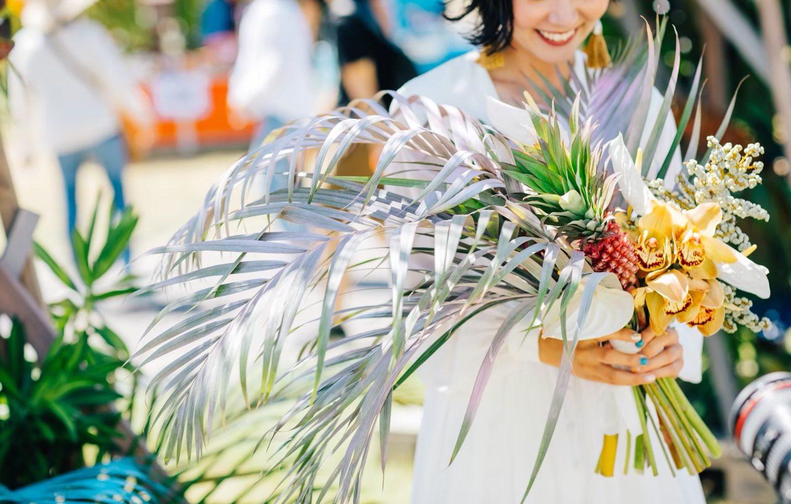 SUMMER SONIC OSAKA/decoration work/LUVONICAL flower works